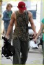 Hollywood Hunk Channing Tatum Shows Off His Biceps