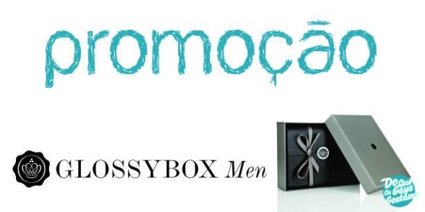 Promoção GlossyBox Men