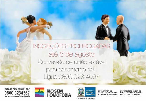 Converta União Estável Casamento Civil Gays Gostam
