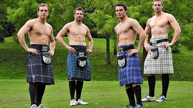 Escocia Sexy Kilt Gays Gostam