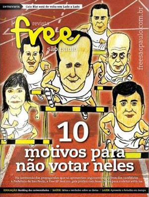FRee São Paulo Revista Homofóbica