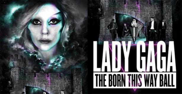 Lady Gaga - Born This Way Ball Ingressos